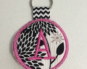 A Embroidered Keychain Ready to ship