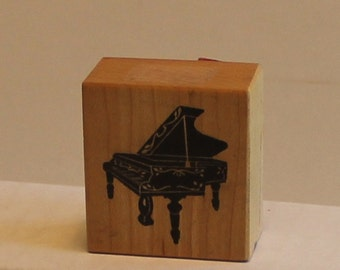 Grand Piano PSX Rubber Stamp