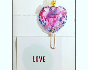 Clip planner shaker card profumo pink fashion beauty