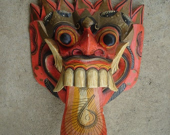 Balinese Mask carved out of wood