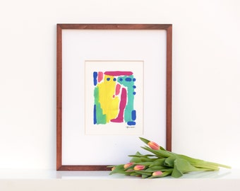 Original Painting : Abstract Color Study 1