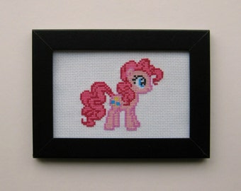 Pinkie Pie (My Little Pony: Friendship Is Magic) - Cross Stitch Pattern
