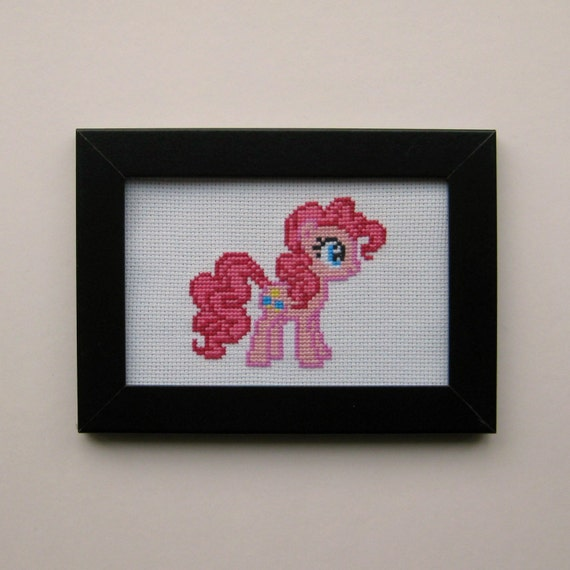 Basket Weaving Supplies Winnipeg : Cross stitch pattern my little pony pinkie pie from