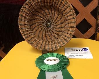 Emerald Isle Best of Show Pine Needle Basket