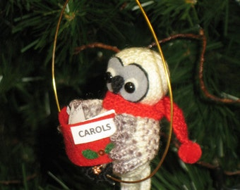 Christmas Owl Pdf Email Knit PATTERN
