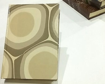 lined marbled paper journal 13,5x10cm, marbled paper, diary, notebook, journal