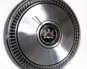 1973 - 1982 Mercury Hubcap Clock - 1974 1975 1976 1977 1978 1979 1980 1981