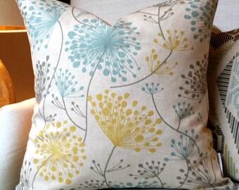 YELLOW Pillow Cover.Decorator Pillow Cover.Home Decor.Large Print. IRISH DAISY.Cushions. Cushion.Pillow. Premier Prints