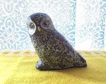 Vintage Pigeon Forge Pottery Owl