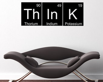Think Elements Quote Vinyl Wall Decal Sticker X56