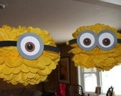 RESERVED LISTING  two minion pomss