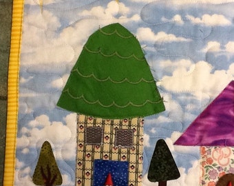 Gnome Homes Wallhanging #5