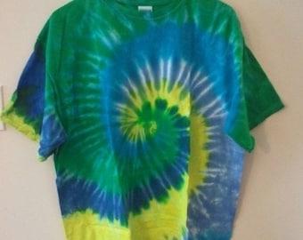 SALE SALE 80s tie dye shirt tshirt hippie grunge 90s peace disco