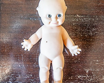 Vintage Rose O'Neill Cameo Rubber Kewpie Doll