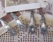 Beautiful Ornate Silver Plate Barrette Hair Clip 50mm back - Your Choice of Pattern (2A)