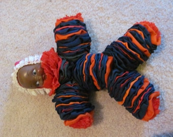 Vintage Handmade Yoyo Doll Clown