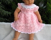 Crochet Baby Dress Pattern, Baby Clothing, Baby Girl Dress pattern, Pattern for Babies, Kids, 9 mo to 12 mo, Crochet Pattern