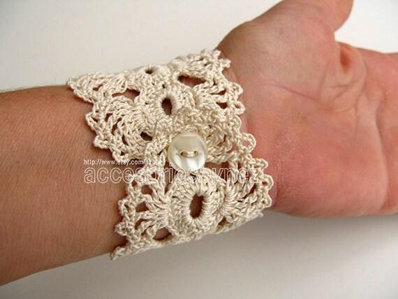 Nezjewelry Pdf Tutorial Crochet Pattern Crochet Cuff Bracelet