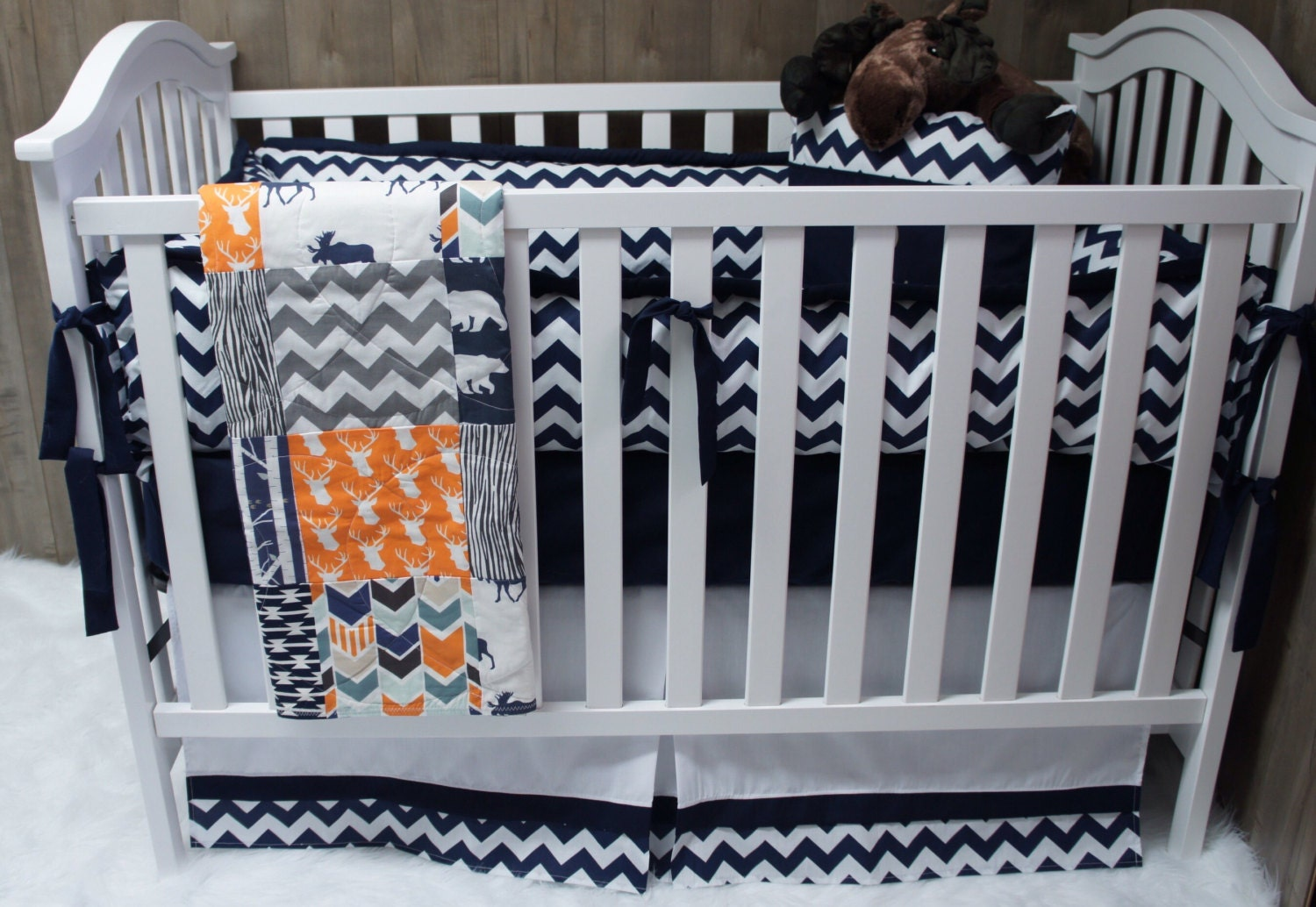 Baby cribs in ghana - Baby Boy Nursery Bedding Set Baby Woodland Deer Moose Arrow Realtree Camo Chevron Baby Bedding Crib Bedding Toddler