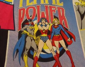 Wonder Woman, Supergirl, BatGirl Shirt, DC Comics choose small to 3xl