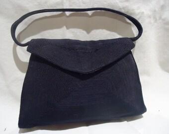 Vintage 1940s Korday handbag  Navy