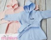 Monogram Baby Robe | Baby Boy Robe | Baby Girl Robe | Baby Shower Gift | Newborn Photos