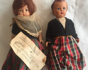 French peasant dolls from 1963