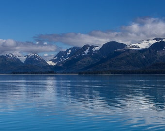 Prince William Sound, Alaska - Fine Art Print