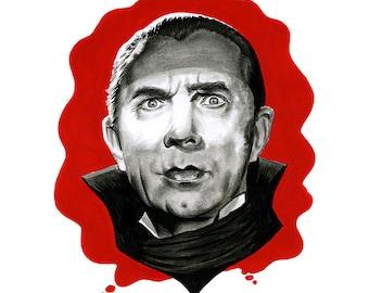 Dracula digital print