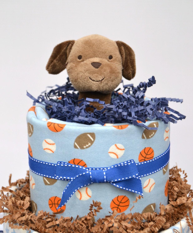 boy shower cake, sports baby shower, sports theme baby gift, boy, Baby shower