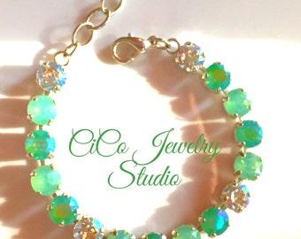 Mystic Green Bracelet