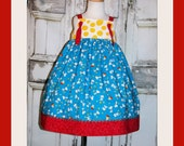Snoopy Peanuts Knot Dress 12M 18M 2 3 4 5 6 7 8 10 12 14 Custom Birthday Woodstock Vacation Movie Handmade by That's So Addie Charlie Brown