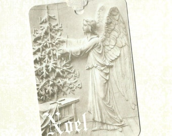 Christmas, Gift Tags, Religious, Angel, Christmas Tags, Noel, Angel Tags