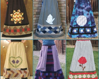 Patchwork Skirt - Custom ~ Made To Order