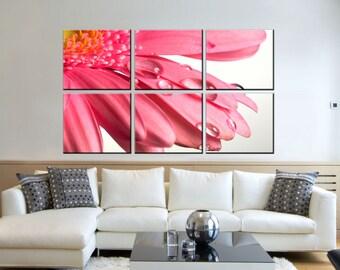 Canvas Prints -  Flower Canvas Art - Flower Photo Canvas Prints - Flower Wall Art - Office Wall Décor – Flower Prints Pictures