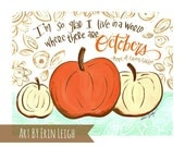 Anne of Green Gables Quote, Autumn Printable, Fall Printable, Handlettered Quote, Inspirational Quote