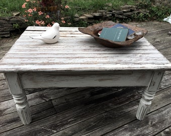 Primitive Farmhouse Coffee Table