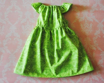 ON SALE! Fancy Me Floral (green) nelle dress, size 12mos.-8 girls