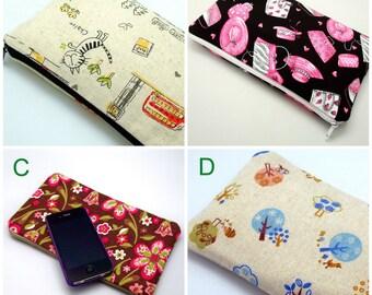 BIG SALE - Large Zipper Pouch, Pencil Pouch, Gadget Bag, Cosmetic Bag (ZL-GP2)