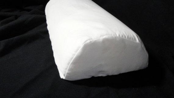 Lumbar Half Moon Pillow Cover Half Cylinder Cushion Cover