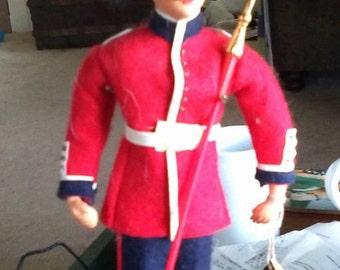 Vintage Peggy Nisbet Costume Doll- England Guardsman