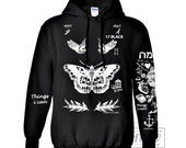 Harry Styles Tattoo Hoodies Sweatshirts Women Sweater Long Sleeve – Size S M L XL