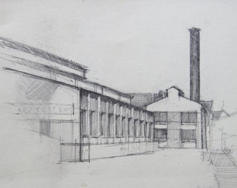 Architectural Sketch - original drawing  (LD 110)