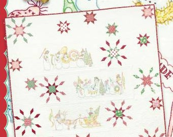 Crabapple Hill  439 Snow Parade Hand Embroidery Pattern Quilt Pattern