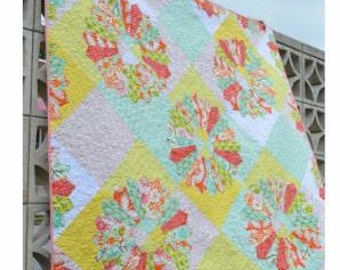 Georgia's Dresden Quilt by May Chappell mc014 Quilt Pattern