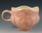 Floral Mug in Pink
