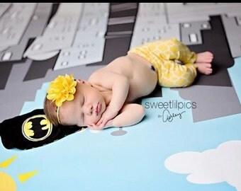 Yellow Flower Headband, Emma Petal, Newborn Headband, Baby Headband, Infant Headband, Photo Prop, Flower Girls, Weddings, School Bows