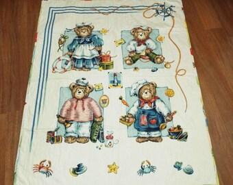 Teddy Bear  Themed Baby Quilt