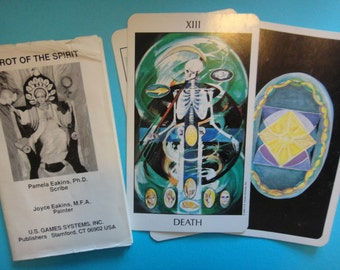 Vintage 1991 Tarot of the Spirit Tarot Deck with Instructions