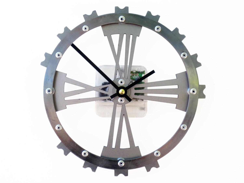 Gear Wall Clock Ii Small Wall Clock Unique Wall Clock